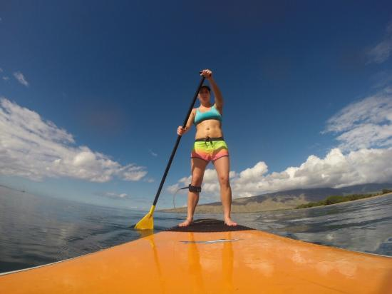 Maria Souza's Stand Up Paddle School : Day 1!
