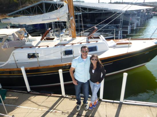 Black Watch Sailing Charters: Brian and Kelly