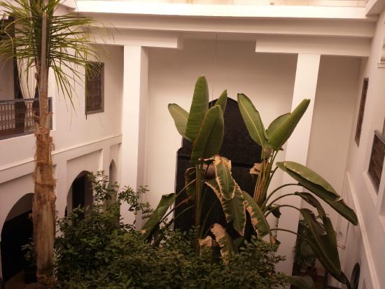 Riad 64: cortile interno