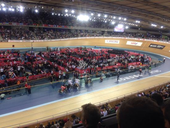 Lee Valley VeloPark: Exciting cyvling