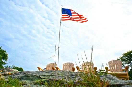 Inn at Mystic: America!!!