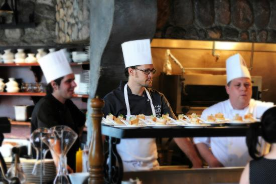 La Forge Bistro-Bar & Grill : Grill_Chef Didier Grimard and team
