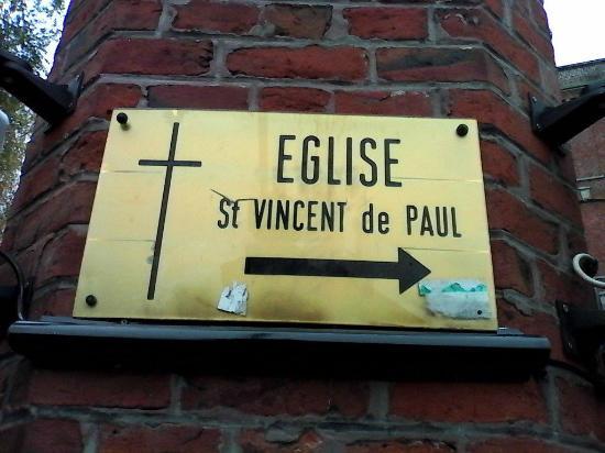 Eglise Saint Vincent de Paul : Signalement de l'église Saint Vincent de Paul