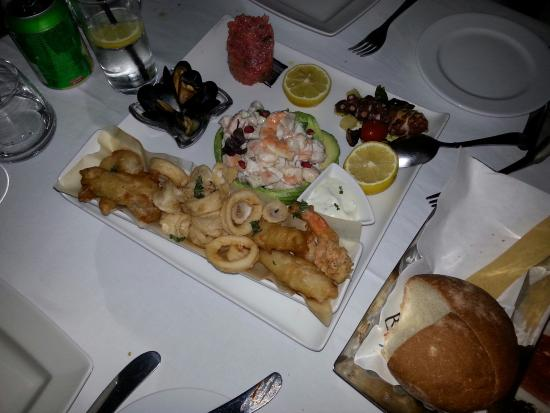Bice Mare: Awesome appetizers!