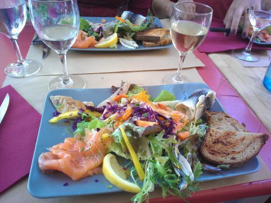 La Guinguette: Prato de peixes diversificado
