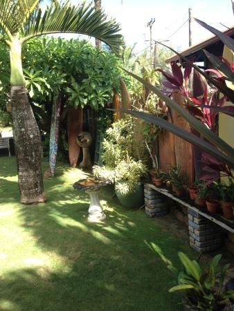 Hanalei Surfboard House: lush nature