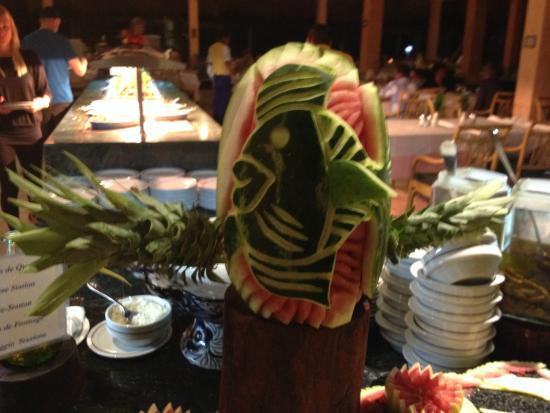 Decoraci n en buffet picture of iberostar tucan hotel playa del carmen tripadvisor - Decoracion buffet ...