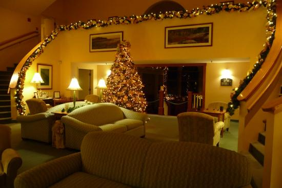 Gorges Grant Hotel: Christmas decorations in lobby