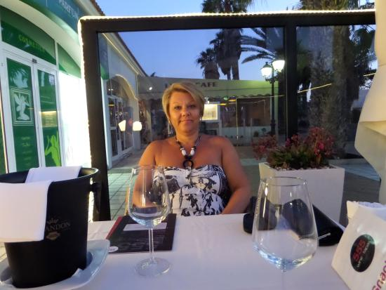 Great Meal at the 555 Wine & Tapas Restaurant