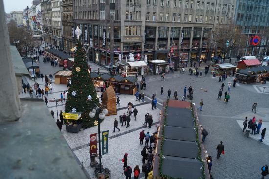 Prague Inn : View from room