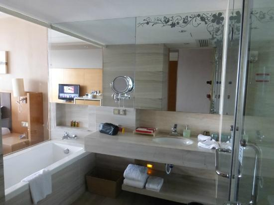 Ramada Plaza Shenzhen North: Bathroom