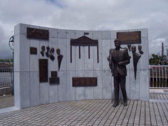Dunbrody Visito Centre: John F Kennedy.