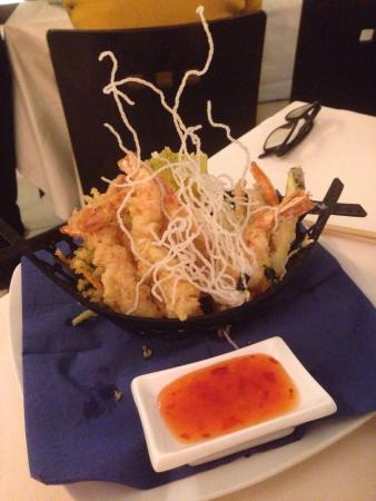 Chef Nestor: Ebi tempura !