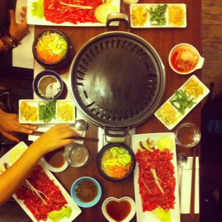 Miam-Miam: Barbecue coréen