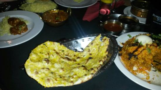 The Indian Chapter Restaurant with Prim Reddy: Garlic naan