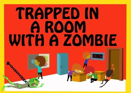 ‪Room Escape Time -Trapped In A Room With A Zombie‬