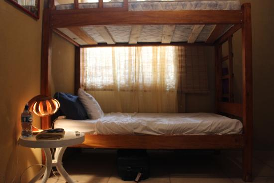 Nosara Beach Hostel: This was the bed I stayed in