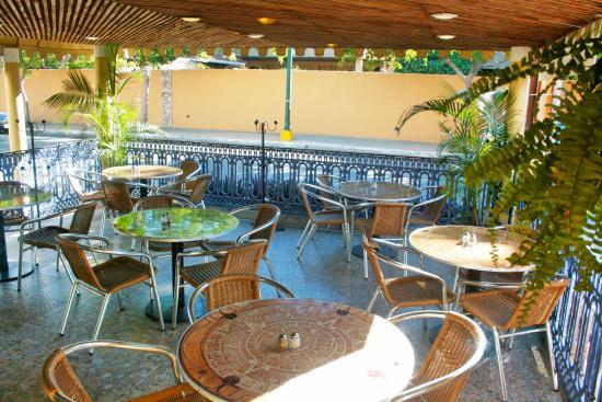 Azteca Inn: Restaurante LA TERRAZA