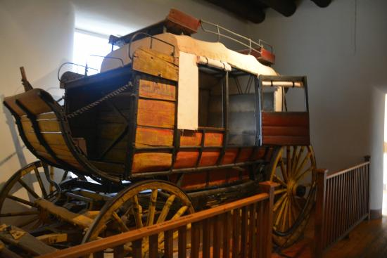 New Mexico History Museum : NM History Museum: Stage Coach
