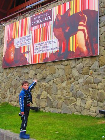 Havanna Museo del Chocolate : Em frente ao museu