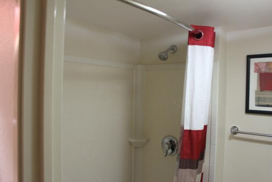 Red Roof Inn Cleveland Airport - Middleburg Heights : Clean shower