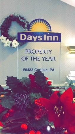 Days Inn Carlisle South: Property of the Year