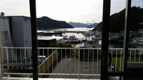 Picton Beachcomber Inn: view from our room