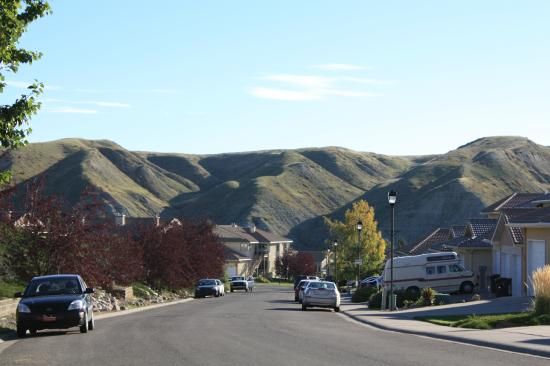 Paradise Canyon Golf Resort : Sitting in the valley of the coulees