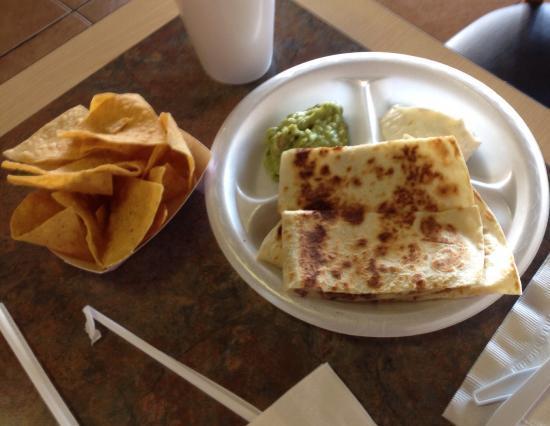 Fiesta Fresh Mexican Grill : Steak casadea