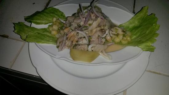 Restaurant Las Americas : Delicioso ceviche mixto