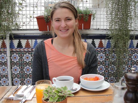 The 5th Floor: Breakfast on the terrace