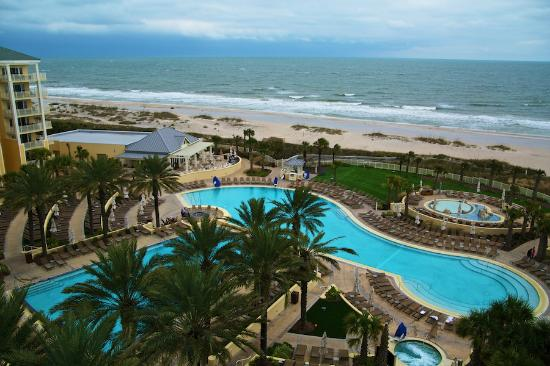 Omni Amelia Island Plantation Resort View From Suite 743 Middle Of Hotel