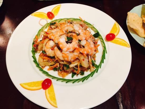 Nam Phan: Mixed Mushroom Salad with Shrimp and Clams