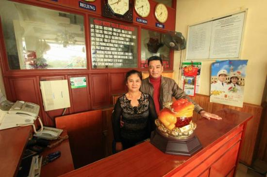Phuong Anh Hotel : Friendly straff