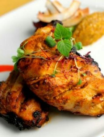 Indigo: flame grilled chicken