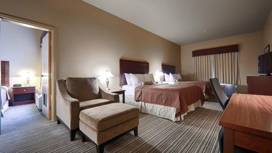 Best Western Rimstone Ridge Hotel: 2 Bedroom Family Suite