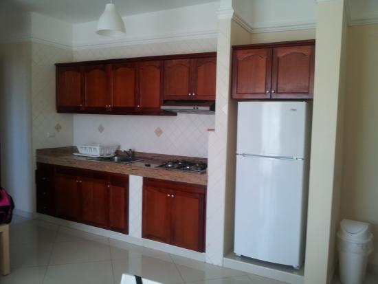 Hotel Shakey: Kitchen