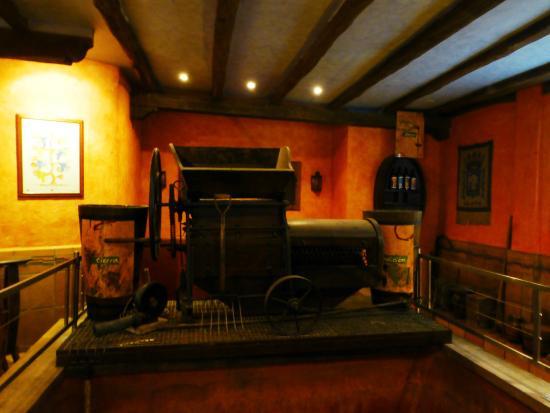 Bodega El Fabulista: 入口に置かれている
