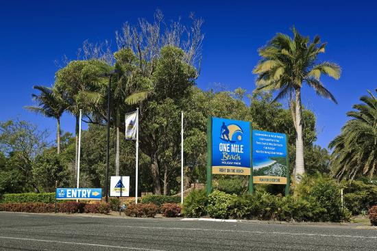 Ingenia Holidays One Mile Beach Welcome To One Mile Beach Holiday Park