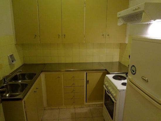 Delice Hotel - Family Apartments: Кухня апартамента