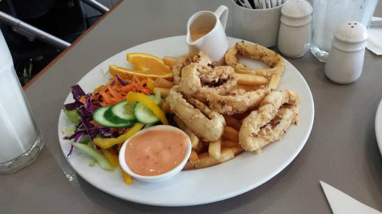 Cosy Nook Cafe & Restaurant: Salt & Pepper Calamari