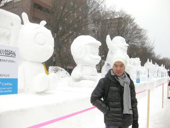 Odori Park: ตุ๊กตา หิมะ น่ารักๆสไตล์ ญี่ปุ่น ครับ
