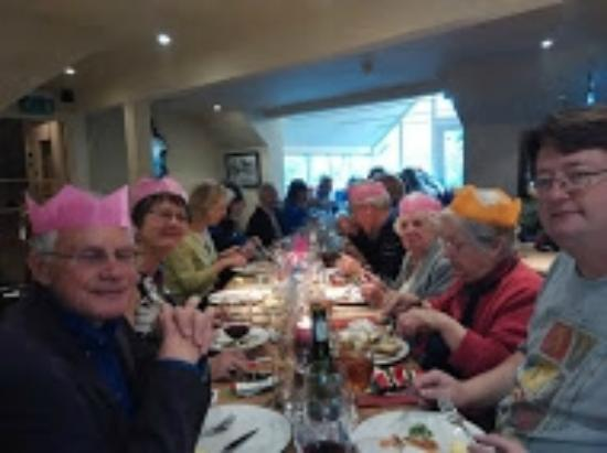 The Old Coach & Horses: Our Annual Christmas Lunch.