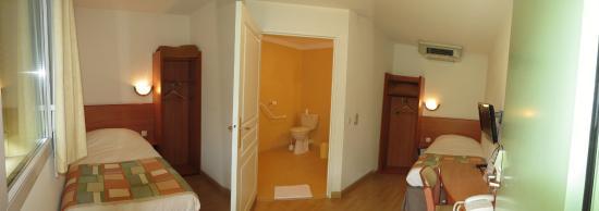 Abbys Hôtel : Chambre twin PMR