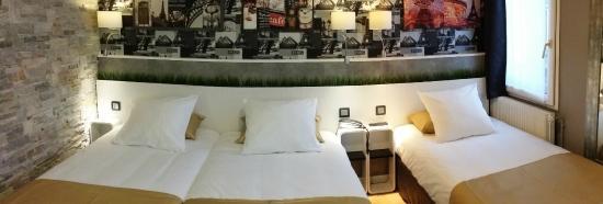 Hotel de la Felicite: Chambre Triple Family