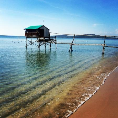 Freedomland Phu Quoc Resort: perfect quiet secluded beach