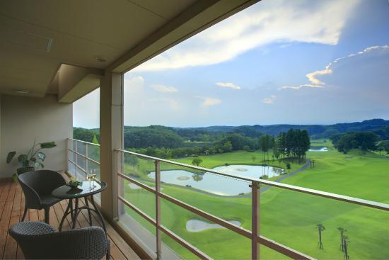 Island Hotel & Resort Nasu: アイランドスイートからの眺望