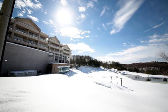Island Hotel & Resort Nasu: 冬景色