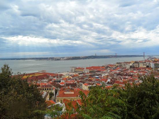 Castelo de S. Jorge: Vistas desde el castillo