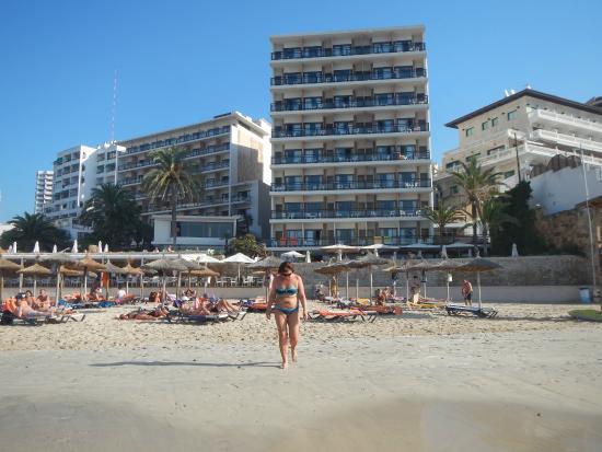 a pies en los mejores precios zapatos de separación Beach from the sea. - Picture of Be Live Adults Only ...